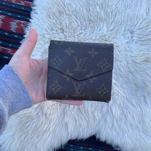 Louis Vuitton vintage wallet bifold coin purse